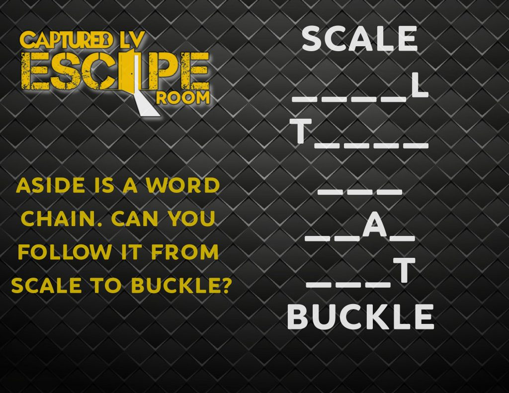 Weekly Riddle 1